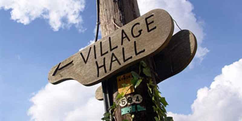 Village Halls news