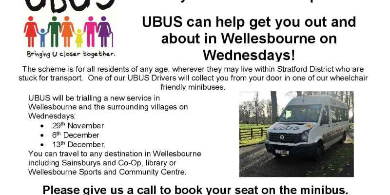 Wellesbourne Wednesday shopping specials!