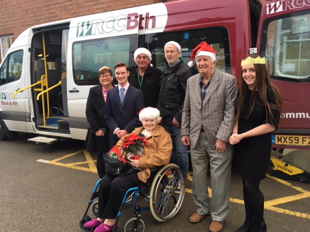 Bringing Christmas cheer to our Rugby communities!