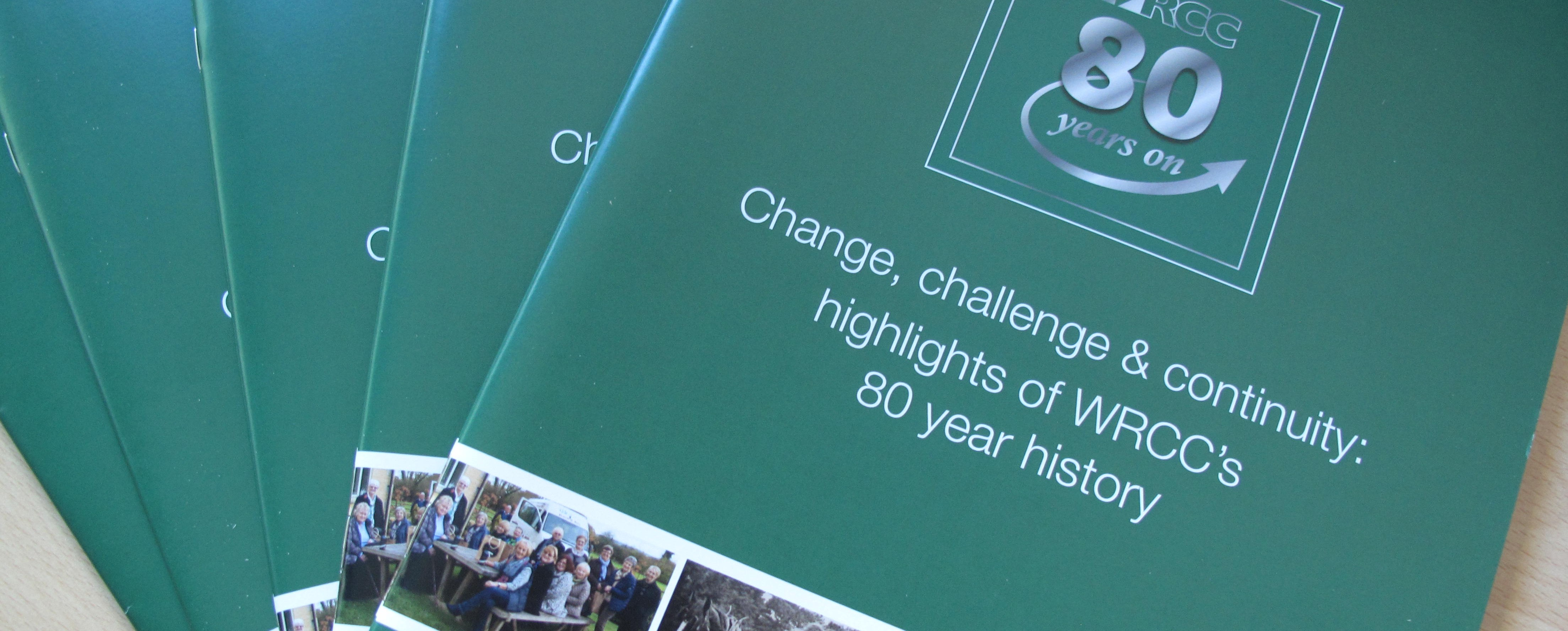 Change, challenge & continuity: WRCC 80 years on