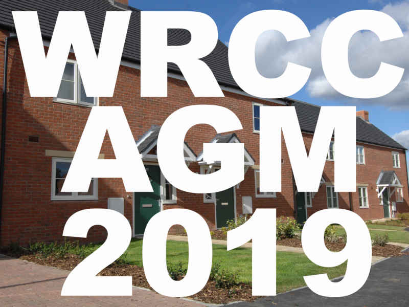 WRCC Annual General Meeting 2019