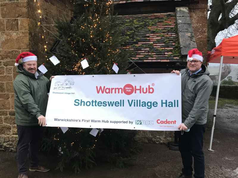 Shotteswell Warm Hub delivers Christmas cheer to community
