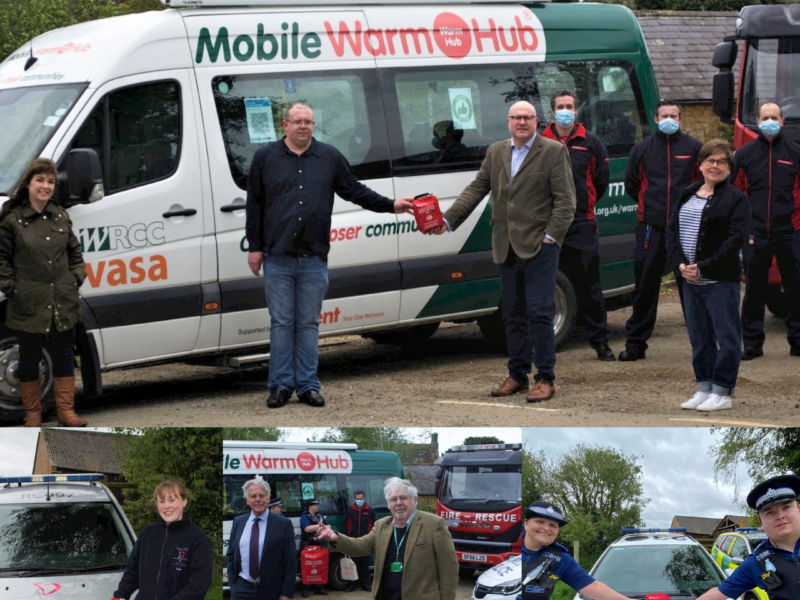 New Mobile Warm Hub to carry life saving Bleed Control Kit